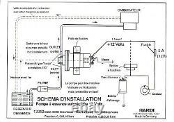 Hardi 12 Volts Alpine Gordini Porsche Ds Self-regulated Electric Gasoline Pump