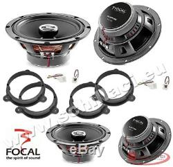 Kit 4 HP Speakers Focal Speakers For Fiat / Alfa Romeo / Lancia / Opel Av
