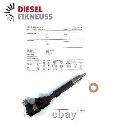 Kit 4 Iniettori Bosch 0445110351 Fiat Fiorino 1.3 Strada Mltj Revisionati