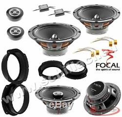 Kit 6 HP Speaker Speaker Focal Fiat / Alfa Romeo / Lancia / Opel Ave.