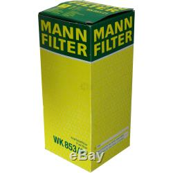 Mannol 6l Extreme 5w-40 Engine Oil + Mann-filter Alfa Romeo 159 939 2.4 Jtdm