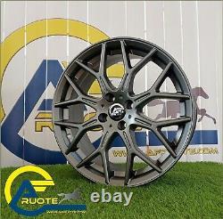 N80 Ma 4 Alloy Wheels Made Italy 17 X Abarth 500 595 Mito Fiat Bravo