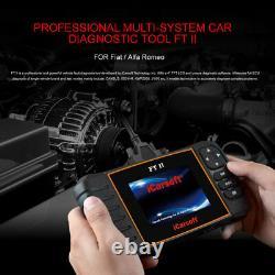Obd Diagnosis Icarsoft Ft II For Fiat / Alfa Romeo German Merchants