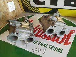 Pair Carburettor Dellorto Dhla 40 Alfa Romeo 02 Nsu Giulia Bmw Fiat Ford Escort