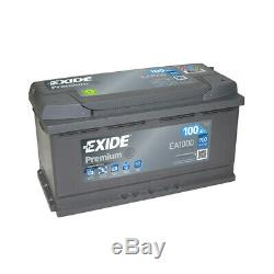 Premium Ea1000 Exide Battery 12v 100ah 900a