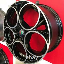 Scuderia Bp Set 4 Alloy Wheels Compatible With Alfa Romeo159 Sportwagon
