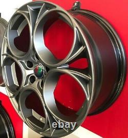 Scuderia Ma Set 4 Wheels Compatible With Giulietta And Fourfoil X Brembo Brakes