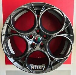 Scuderia My Wheels Set 4 Compatible With Giulietta And Quatrefoil X Brembo Brakes