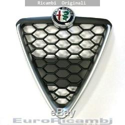 Scudo Grid Nest Honeycomb With Frame Chrome Alfa Romeo Giulietta 16 Eo