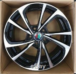 Set 4 Alloy Wheels 16 Alfa Romeo Giulietta 159 Giulia Fiat 500 X Croma Nad