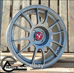 Set 4 Alloy Wheels Lightweight Gloves 17 Et29 X Abarth 500 595 Turbo Jet Mta Track