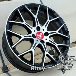 Set 4 Alloy Wheels N80 7x17 Et35 4x98 58.1 Dedicated Fiat Abarth 500 595 695