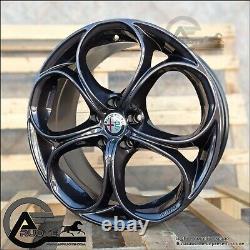 Set 4 Alloy Wheels Nad 18 Et40 Alfa Giulietta 159 Brera Ok Brembo Pliers