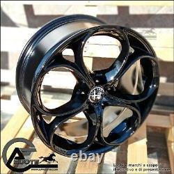 Set 4 Alloy Wheels Nad 18 Et40 Alfa Giulietta 159 Brera Ok Pliers, Brembo