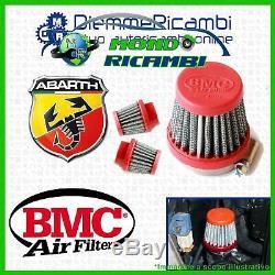 Set Bmc Filter Fiat Abarth 500 595 External Vent Pop Off Suspension Alfa Mito