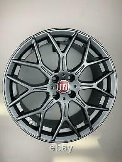 Set Of 4 Alloy Wheels For Fiat 500 Bravo Stilo From 17 New