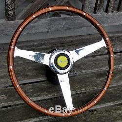 Steering Wheel Wood Ferrari Dino Alfa Romeo Fiat Abarth Lancia & Others