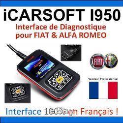 Suitcase Diagnostic Fiat & Alfa Romeo Icarsoft I950 Multiecu Kkl Elm