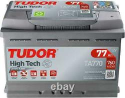 Tudor High-tech 77ah/760a Battery (ta770)
