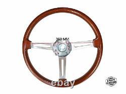 Type Ellébore Volant Alfa Romeo 105/115 Spider Gt Wood Volant 390mm + Hub