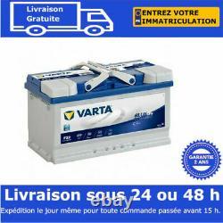 Varta F22 Efb Start Stop Car Battery 12v 80ah 315x175x190 580500073