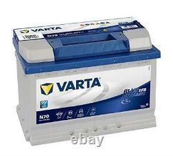 Varta N70 Efb Start Stop Car Battery 12v 70ah E45 278x175x190mm