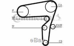 Water Pump + Timing Belt Kit Alfa Romeo 159 1.9 Jtdm 16v Contitech