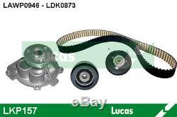 Water Pump Timing Belt Kit Lucas Lkp157 For Astra Meriva
