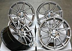 Wheels 18 Alloy Cruize Turbine Hyper Silver 5x108 Twisted Rays 18 Inches