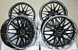 Wheels Alloy 18 Cruize 190 Bp Black Brunoise Deep Ring 5x108 18 Inch