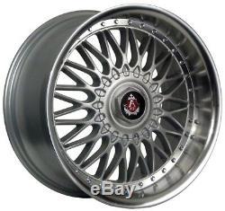 Wheels Alloy X 4 18 Silver Ex10 Alfa Romeo 159 Jeep Cherokee Saab 9-3 9-5