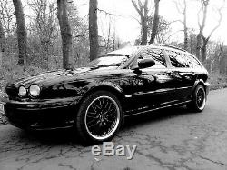 X4 Alloy Wheels 18 Black P 190 Alfa Romeo 159 Jeep Grand Cherokee 9-3