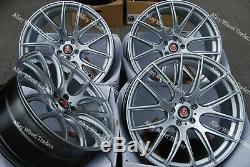 X4 Alloy Wheels 18 Hs Light Cs To Alfa Romeo 159 Jeep Grand Cherokee 9-3