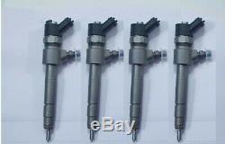 X4 Bosch Injectors Fiat Suzuki Opel Alfa Romeo 0445110276 (order 50)