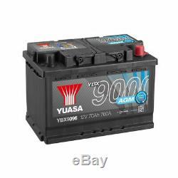 Yuasa Battery Ybx9096 Agm 12v 70ah 760a