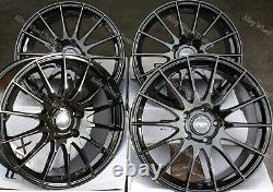 18 B FX004 Roues Alliage Pour Cadilac BLS Fiat 500x Croma Saab 9-3 9-5 5x110