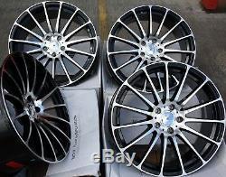 18 BMF Force 5 Roues Alliage pour 5x98 Alfa Romeo 147 156 164 Gt Fiat 500l