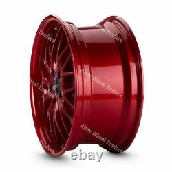18 Candy 190 Roues Alliage Pour Cadilac BLS Fiat 500x Croma Saab 9-3 9-5 5x110