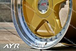 18 Gpl 04 Roues Alliage Pour Cadilac BLS Fiat 500x Croma Saab 9-3 9-5 5x110