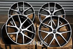 18 NOVUS 01 Bp Roues Alliage Pour Opel Adam S Corsa D Astra H & OPC