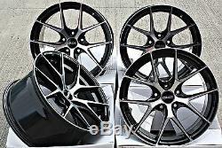 18 Roues Alliage Cruize Gto Bp pour Opel Adam S Corsa D Astra H & OPC
