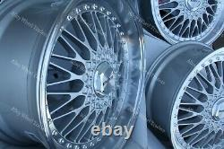 18 Vintage Roues Alliage Pour Alfa 159 Cadilac BLS Fiat Croma Saab 9-3 9-5