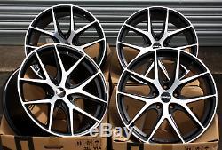 19 Novus 01 Bp Roues Alliage pour Opel Adam S Corsa D Astra H & OPC
