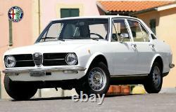 2 en dehors de Miroir Ovale Spider Alfa Romeo 105 115 Giulia Alfetta Gt avec Kba