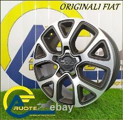 4 Jantes en Alliage Fiat Originale à Partir De 17 X Alfa Romeo Juliet 500X Jeep