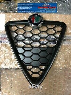 Alfa Romeo Giulietta 2016 Bouclier/Grille Arrière Nid D'Abeille Original Bruni