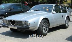 Alfa Romeo Zagato Gt Junior 115 Mascherina Calandra Griglia Cromo 1969-75 Nuova
