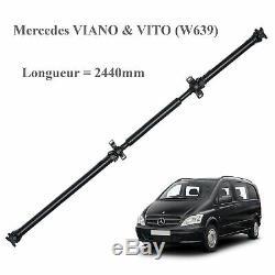 Arbre de transmission ARRIERE NEUF pour Mercedes Vito Viano 2440mm =A6394103306