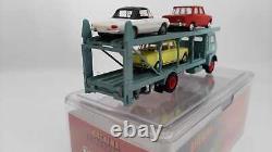 BREKINA PIBK95843ar Fiat 642 Camion Transporter Avec 3 Voitures Alfa Romeo Ho 1