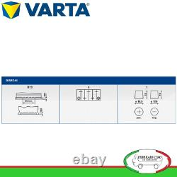 Batterie Démarrage Batterie Varta 60ah 12v Blue Dynamic D59 560 409 054